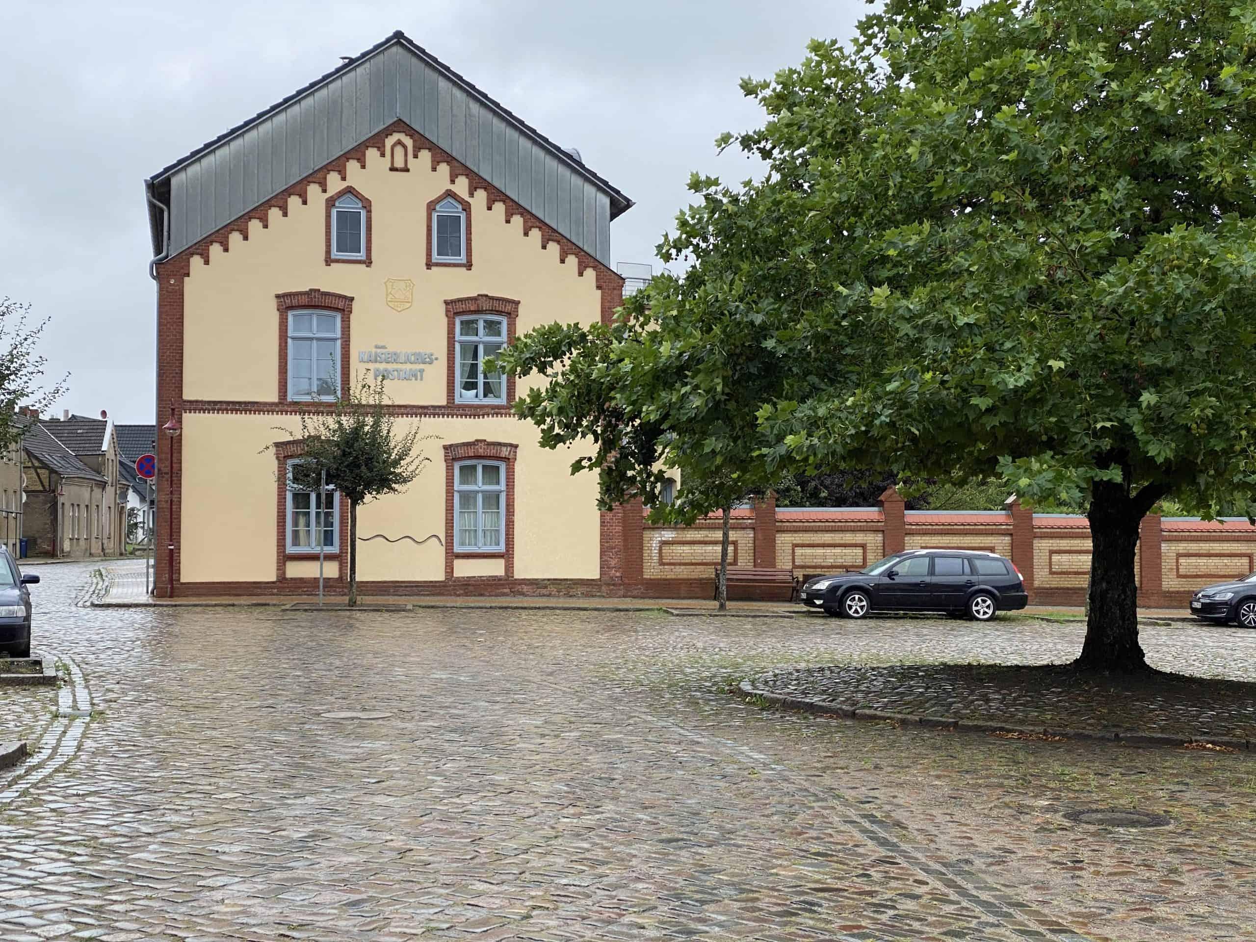 Kaiserliches Postamt in Warin